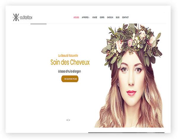 Example-site-web-ecomerce-produits-cosmétiques-argans-marrakech-maroc-artisanat-maroc